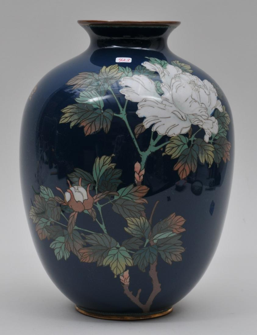 Cloisonné vase. Japan. Meiji period. (1868-1912).