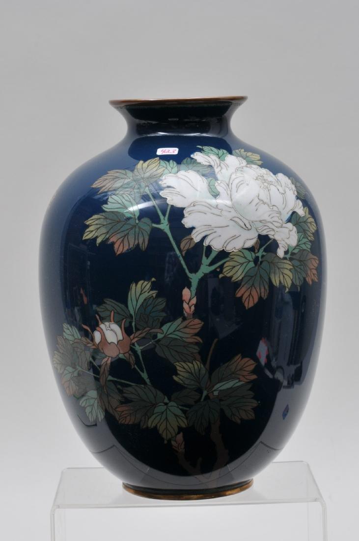 Cloisonné vase. Japan. Meiji period. (1868-1912). - 2