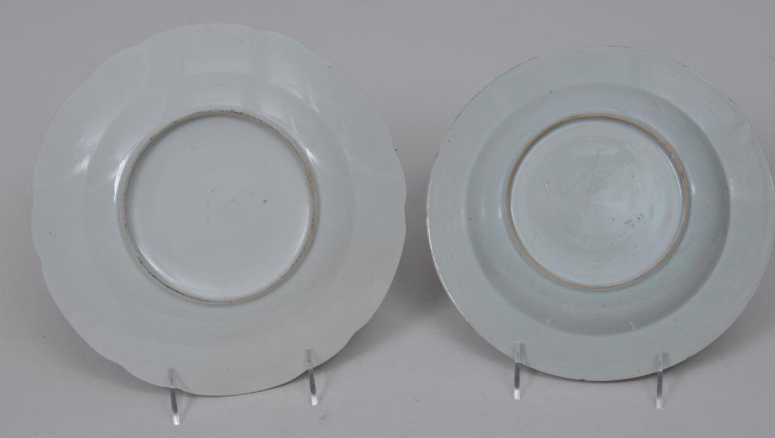 Two porcelain plates. Chinese Export ware. Decoration - 7