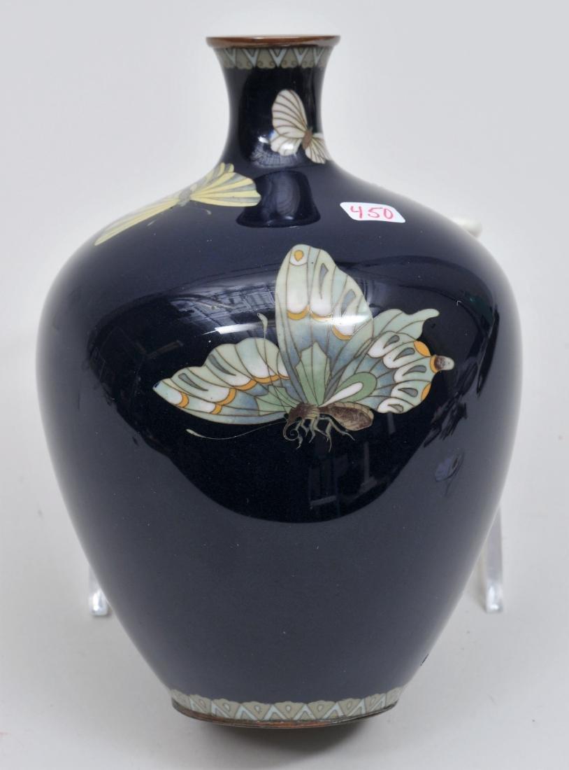 Cloisonné vase. Japan. Meiji period. (18680-1912).