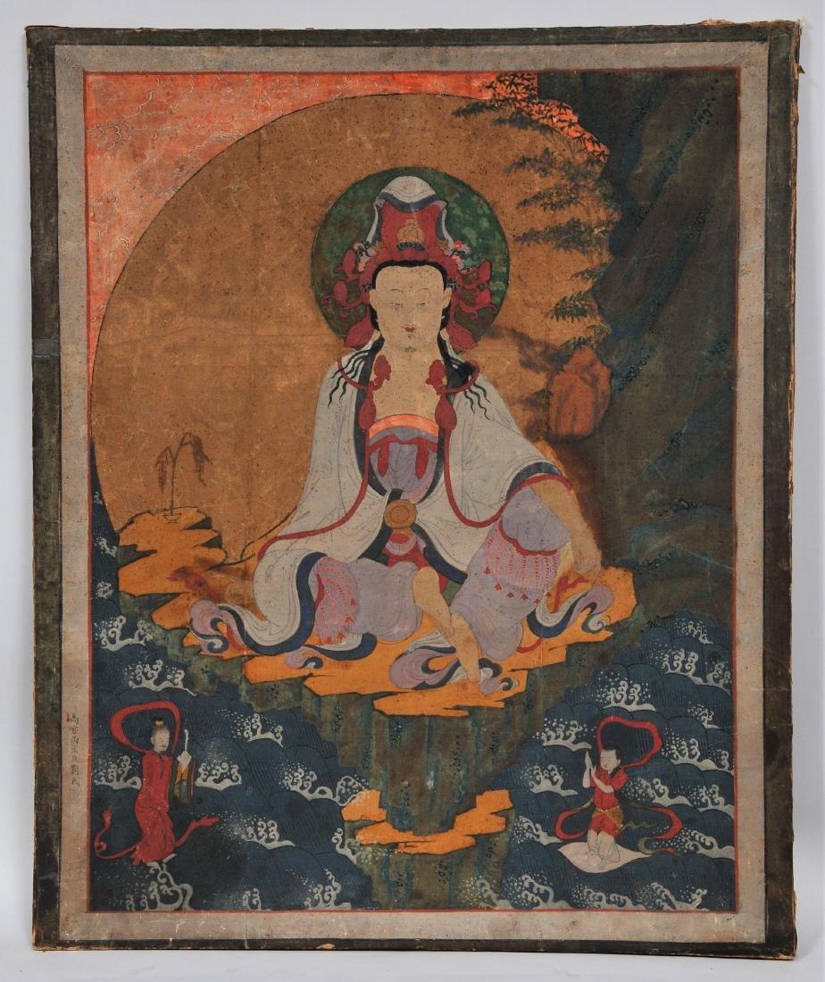 Buddhist Image. Korea. Koryo period or early Yi. Late