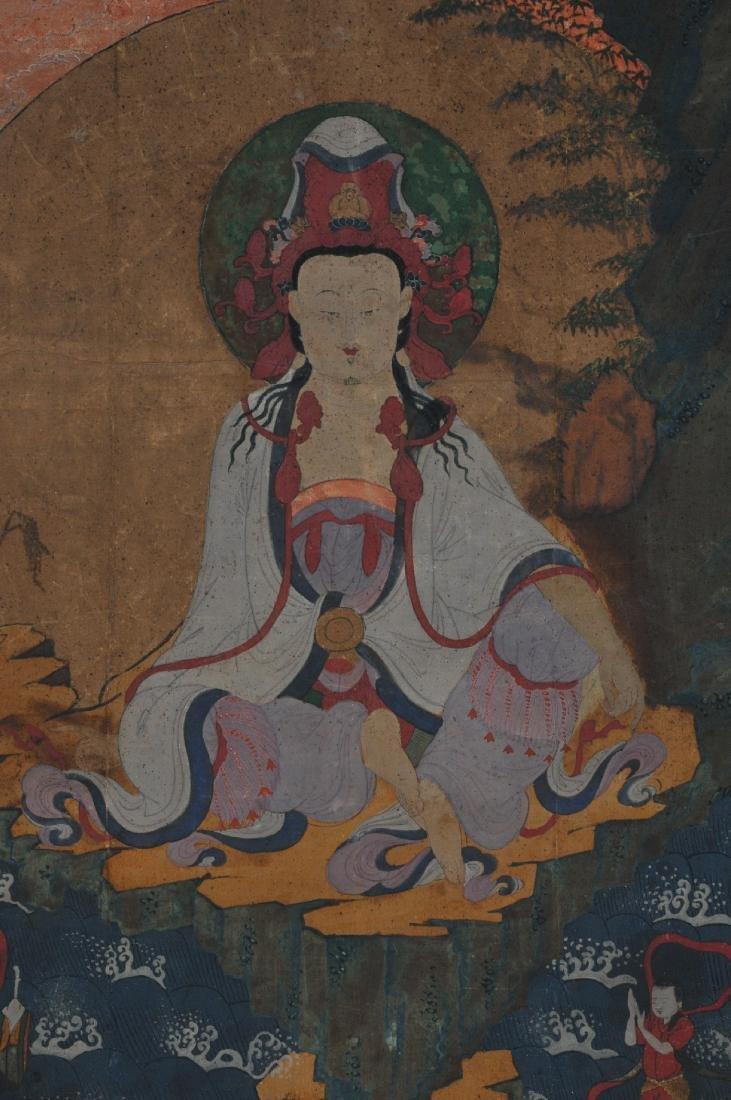 Buddhist Image. Korea. Koryo period or early Yi. Late - 2