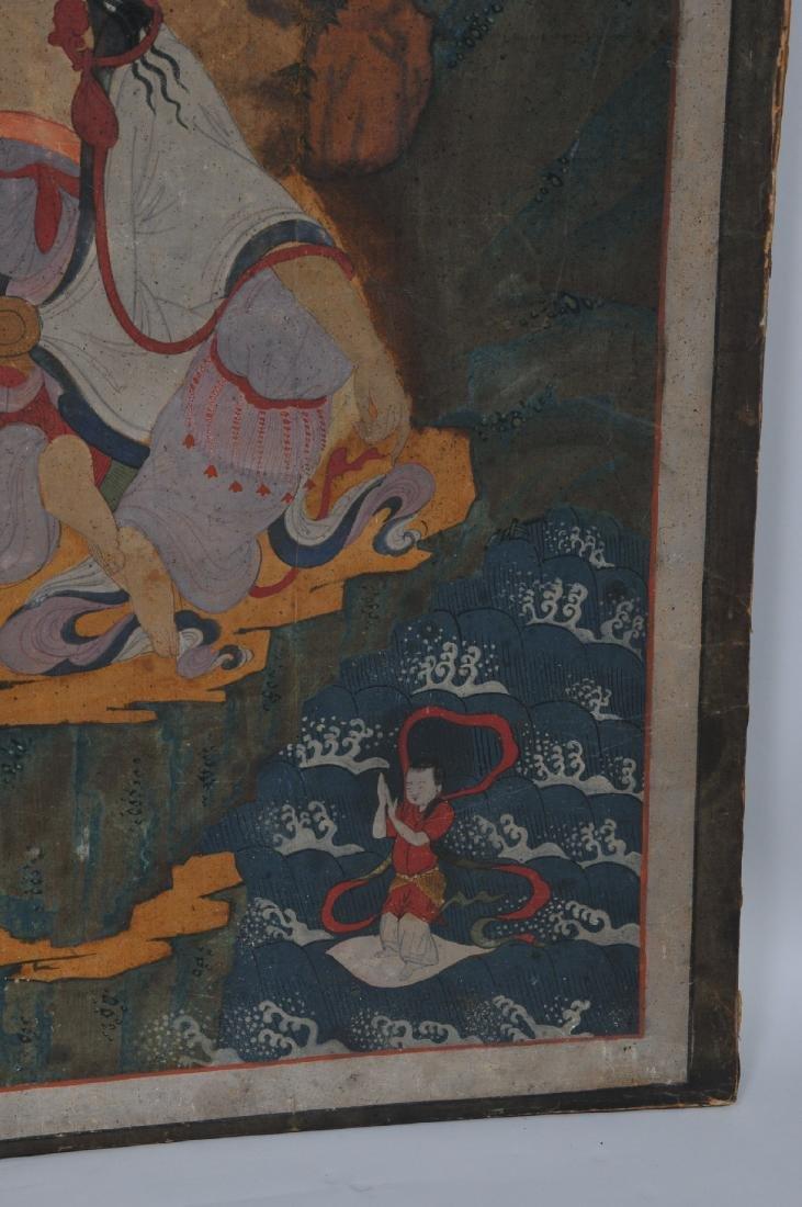 Buddhist Image. Korea. Koryo period or early Yi. Late - 6