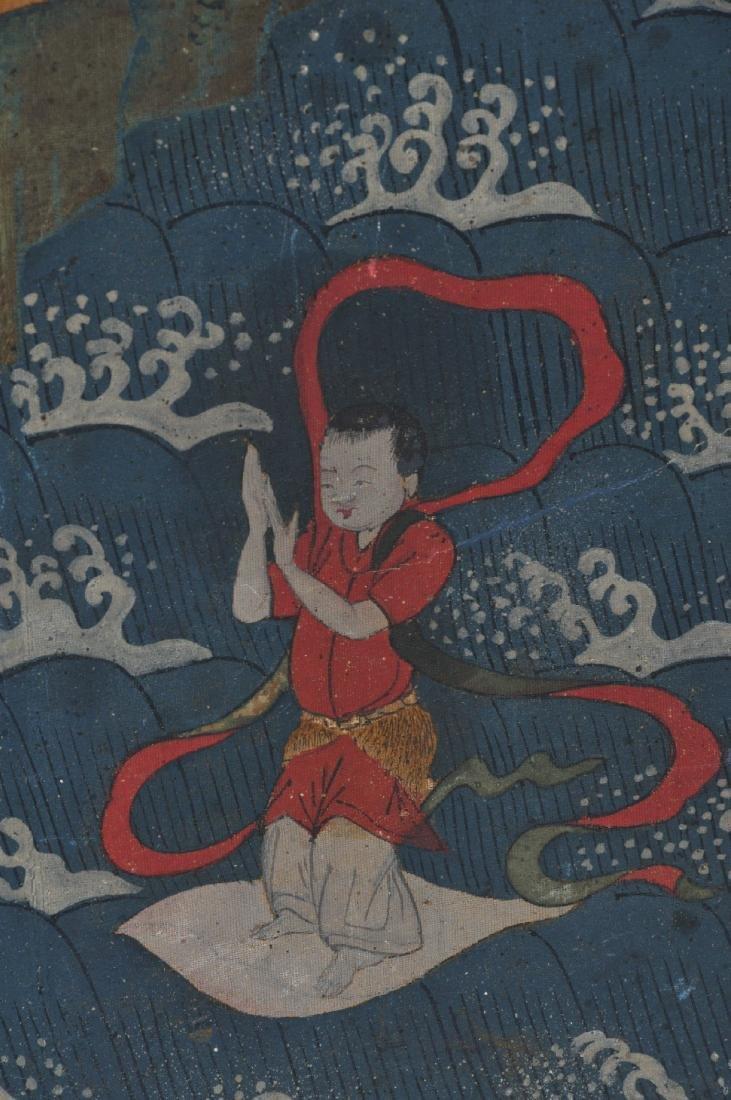 Buddhist Image. Korea. Koryo period or early Yi. Late - 8