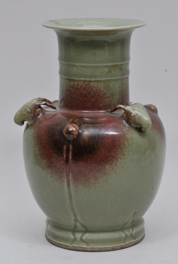 Porcelain vase. China. 19th century. Chun yao style - 2
