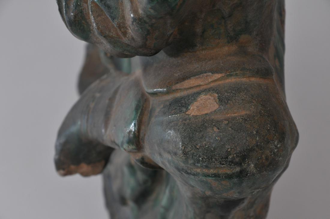 Pottery figure. China. Ming period (1368-1644). San - 9