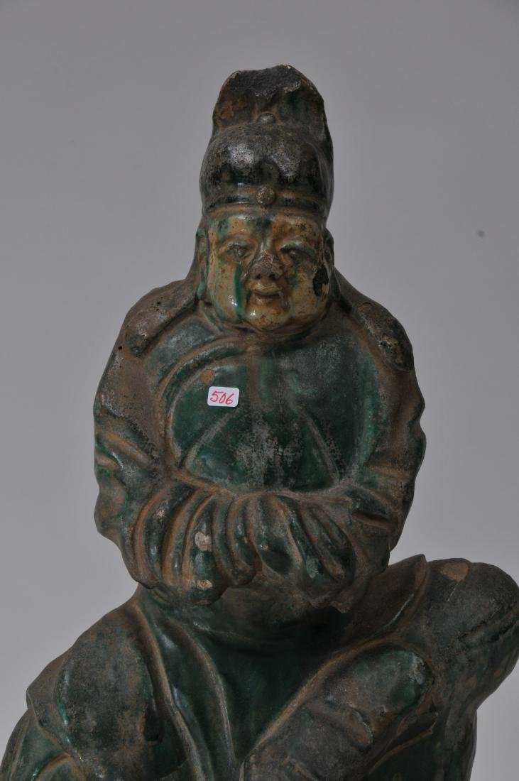 Pottery figure. China. Ming period (1368-1644). San - 2