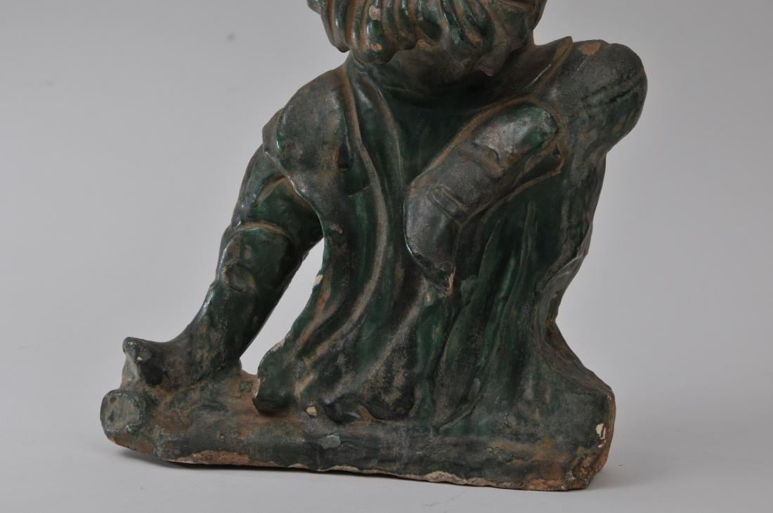 Pottery figure. China. Ming period (1368-1644). San - 3
