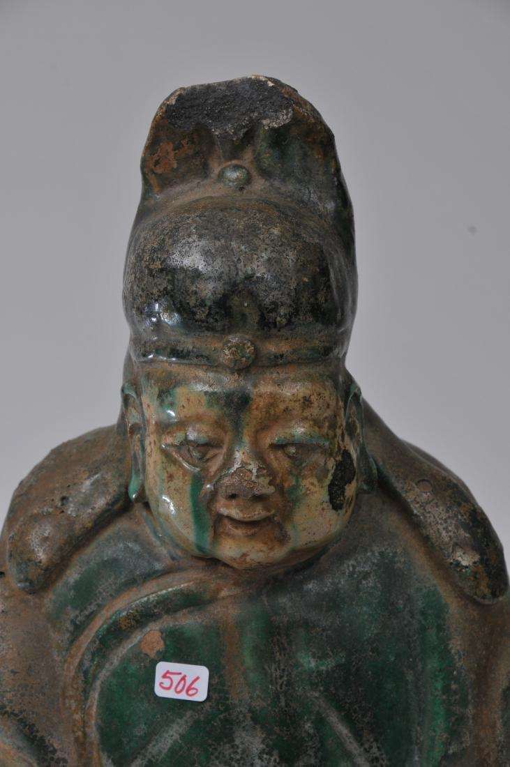 Pottery figure. China. Ming period (1368-1644). San - 4