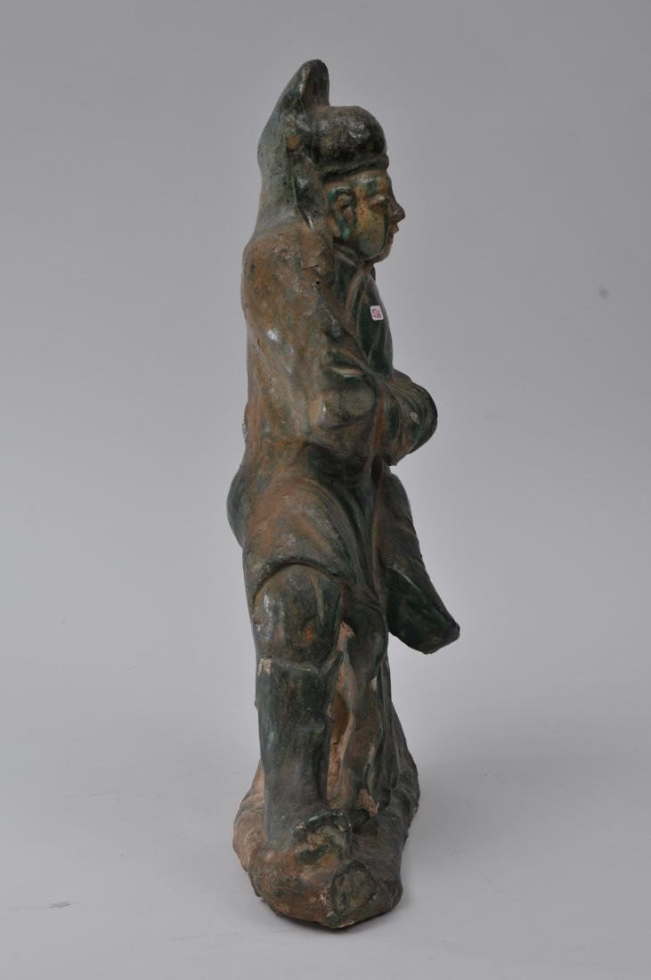 Pottery figure. China. Ming period (1368-1644). San - 5