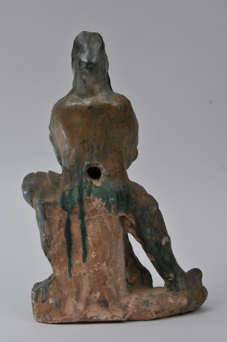 Pottery figure. China. Ming period (1368-1644). San - 6
