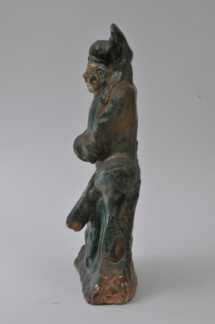 Pottery figure. China. Ming period (1368-1644). San - 8