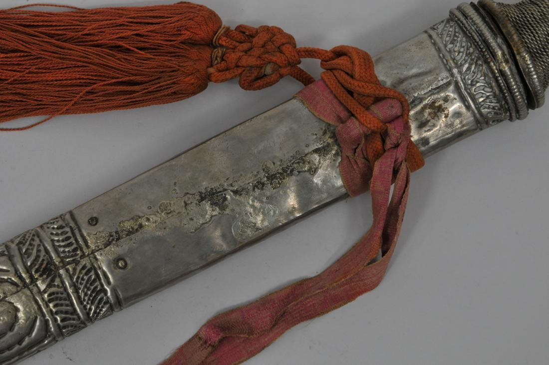 Sword. Tibet. 19th century to early 20th century. Base - 9