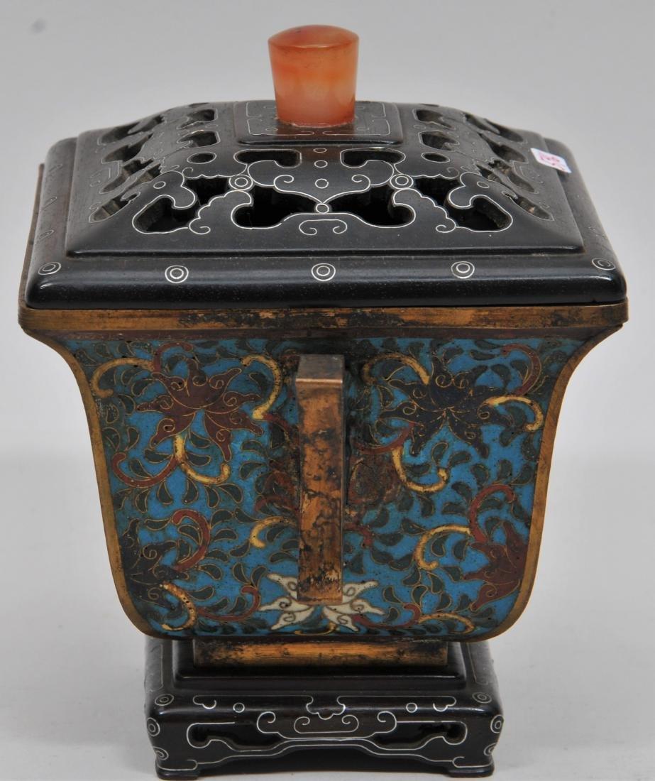 Cloisonné Censer. China. Ch'ien Lung mark (1735-1796) - 6