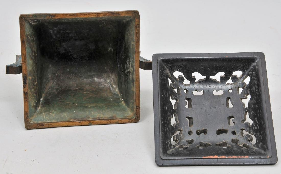 Cloisonné Censer. China. Ch'ien Lung mark (1735-1796) - 9