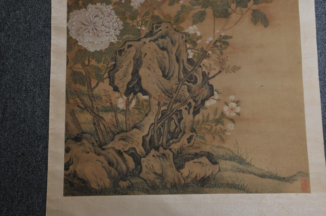 Scroll painting. China. 19th century. Ink and  colour - 3