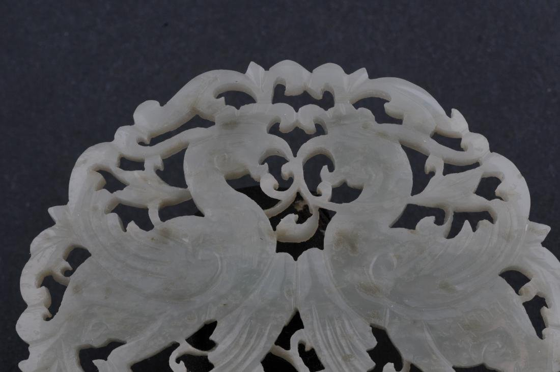 Jade pendant. China. 19th century. Stone of a grey - 2