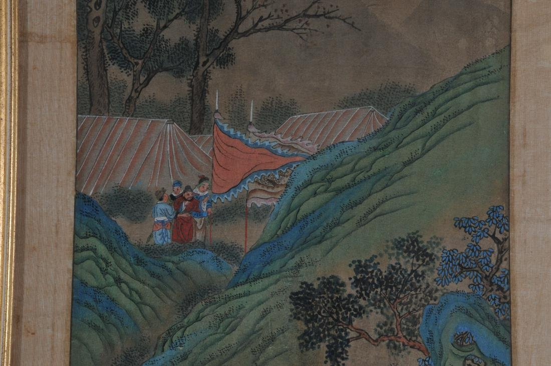 Pair of hanging scrolls. China. Early 20th century. Ink - 7