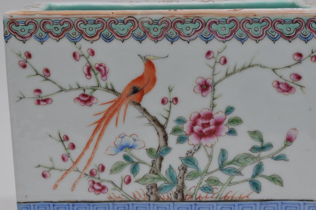 Porcelain planter. China. Early 20th century. Famille - 2