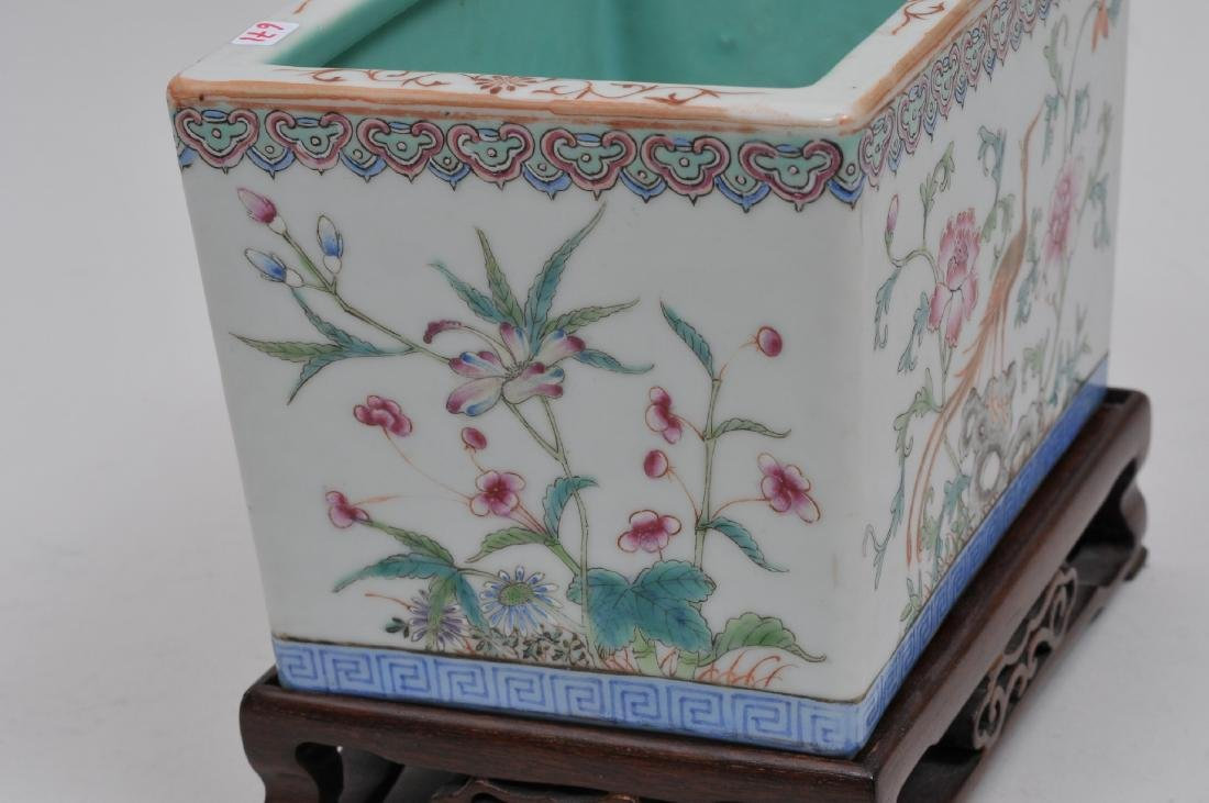 Porcelain planter. China. Early 20th century. Famille - 5