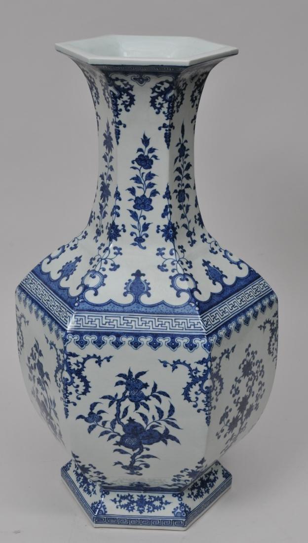 Large porcelain vase. China. 20th century. 18th century - 4