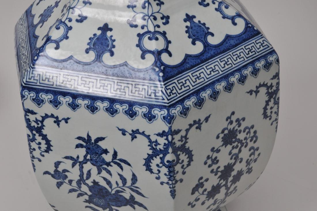 Large porcelain vase. China. 20th century. 18th century - 5
