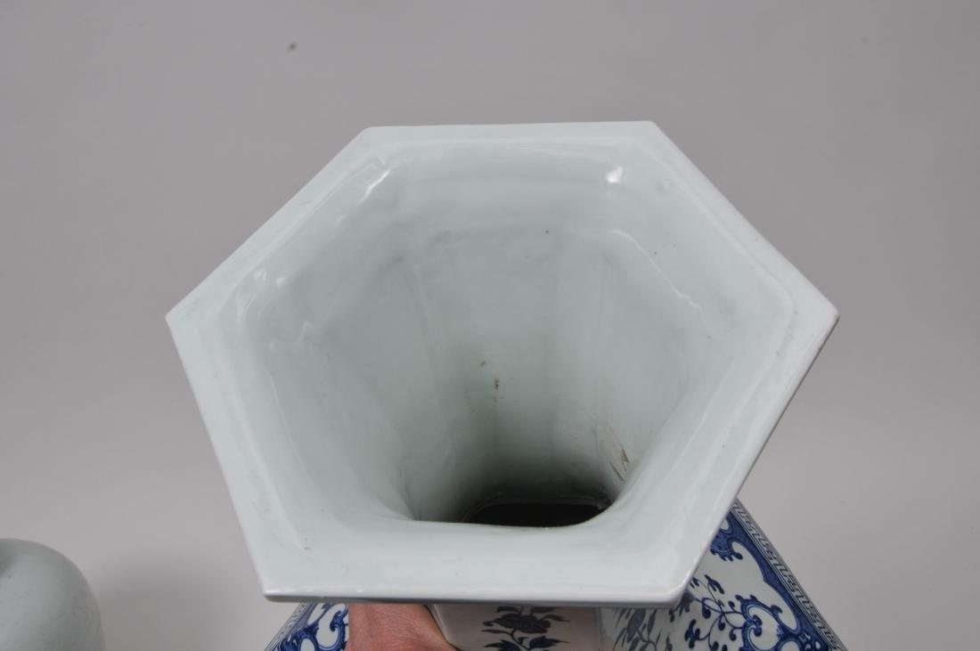 Large porcelain vase. China. 20th century. 18th century - 6