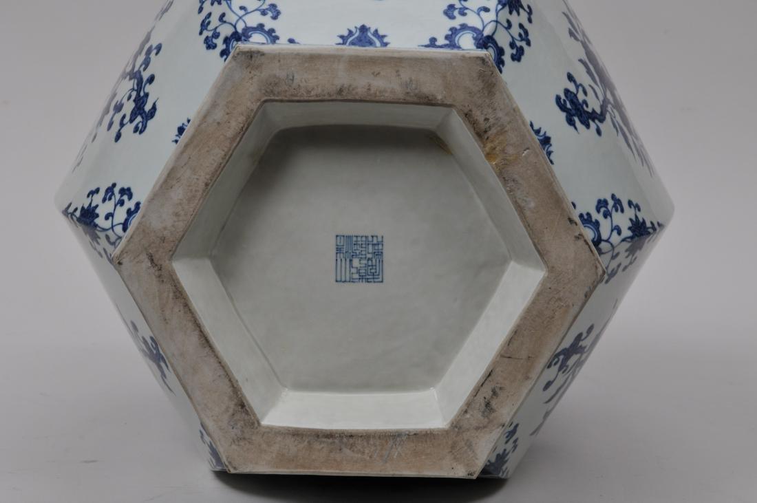 Large porcelain vase. China. 20th century. 18th century - 7