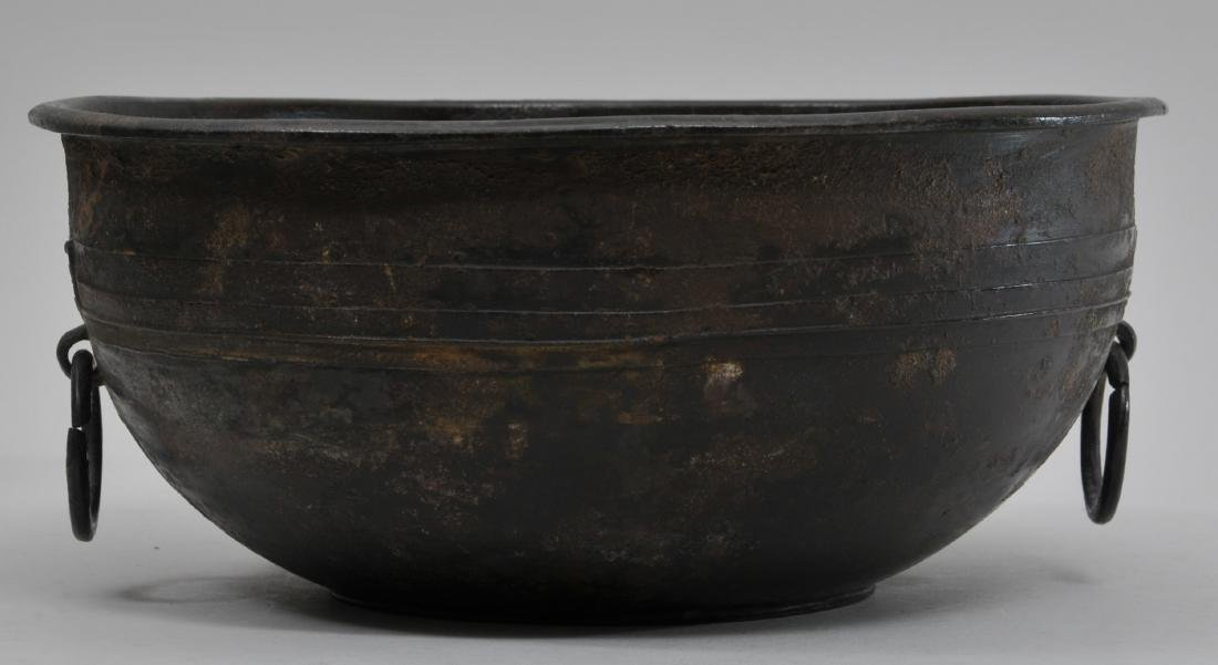 Bronze bowl. China. Han period. (2nd BC- 2nd c AD). Tao - 2