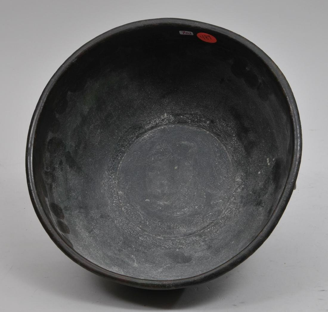 Bronze bowl. China. Han period. (2nd BC- 2nd c AD). Tao - 5