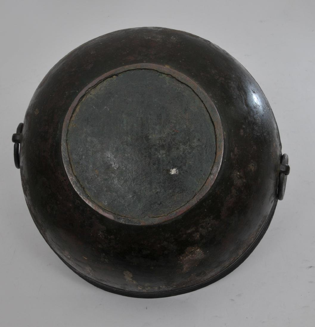 Bronze bowl. China. Han period. (2nd BC- 2nd c AD). Tao - 6