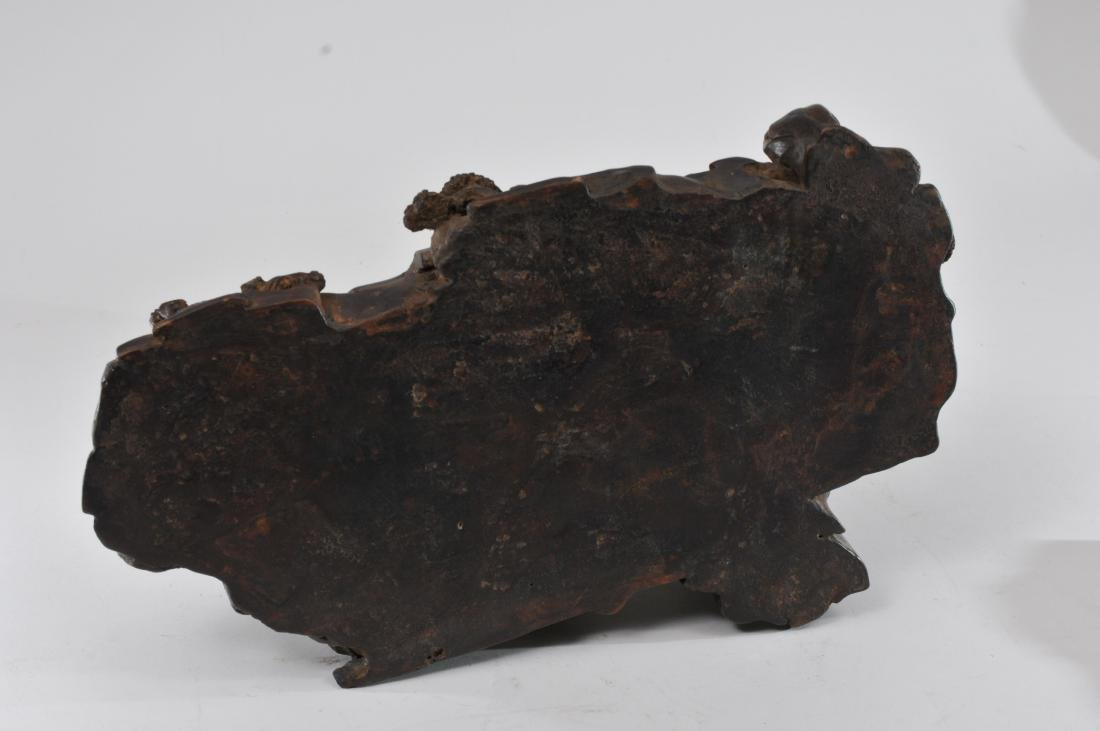Agarwood carving. China. 19th century. Very large - 11