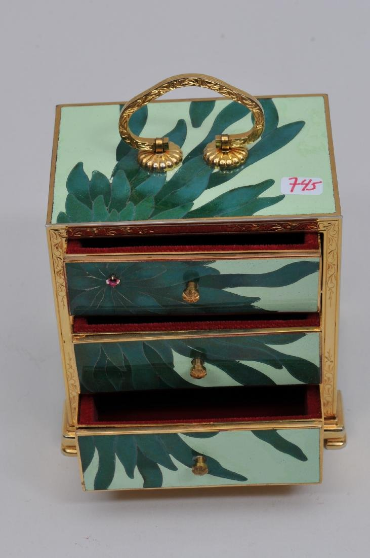 Small  Cloisonné cabinet. Japan. Second half of the - 2
