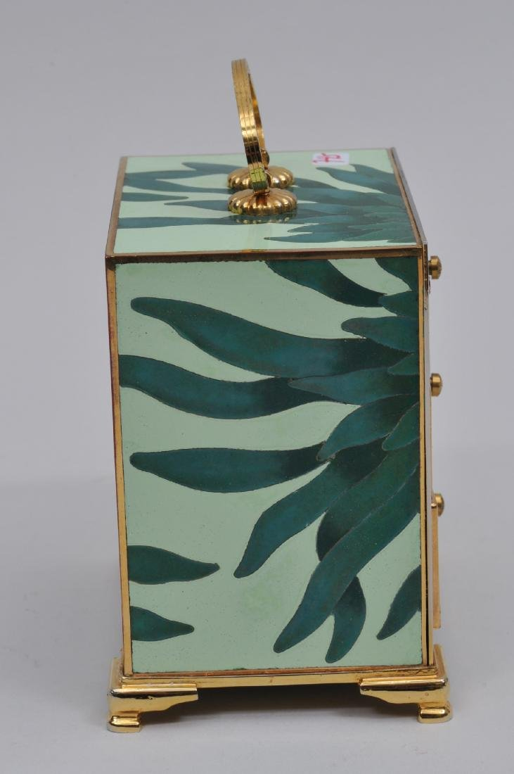 Small  Cloisonné cabinet. Japan. Second half of the - 4
