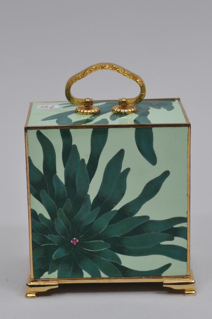 Small  Cloisonné cabinet. Japan. Second half of the - 5
