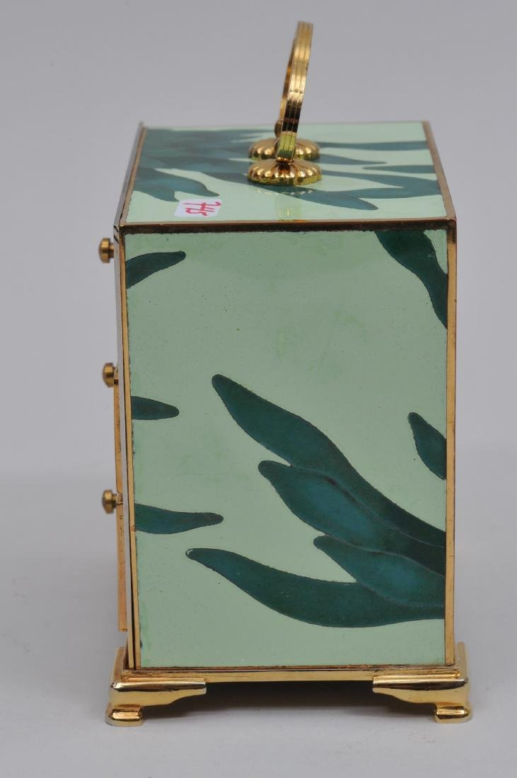 Small  Cloisonné cabinet. Japan. Second half of the - 6