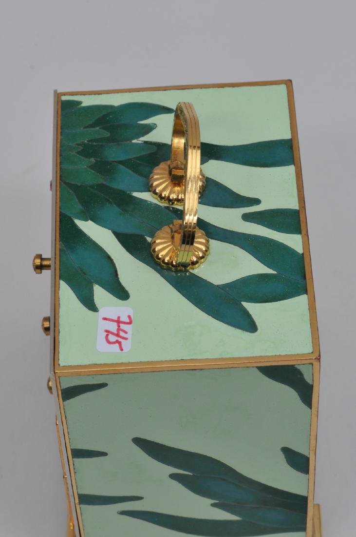 Small  Cloisonné cabinet. Japan. Second half of the - 7