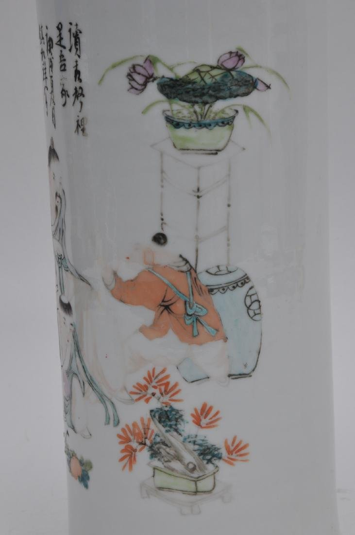 Porcelain hat stand. China. Early 20th century. - 4