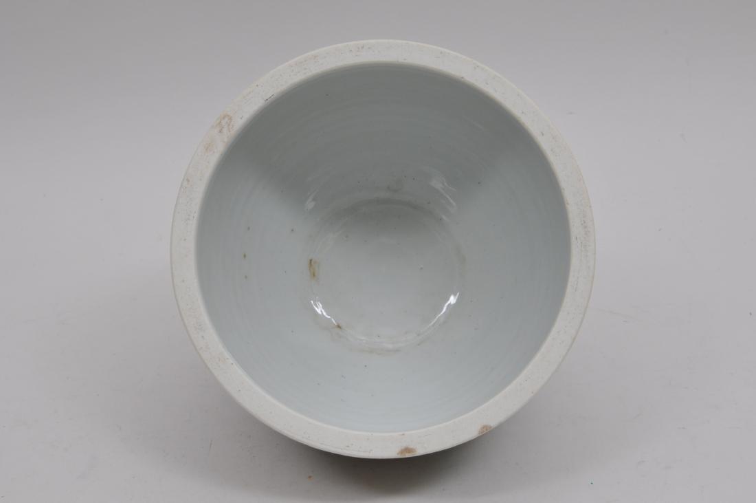 Porcelain jardinere. China. 19th century. Famille Verte - 6