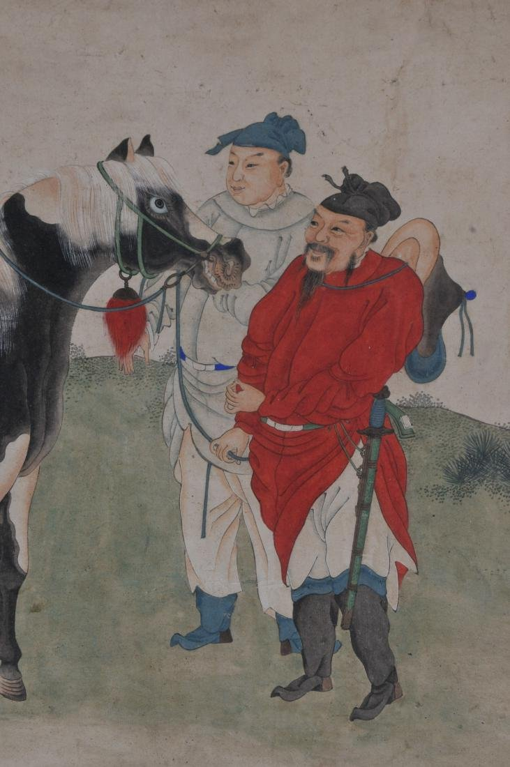 Hanging scroll. China. 18th/19th century. Ink and - 10