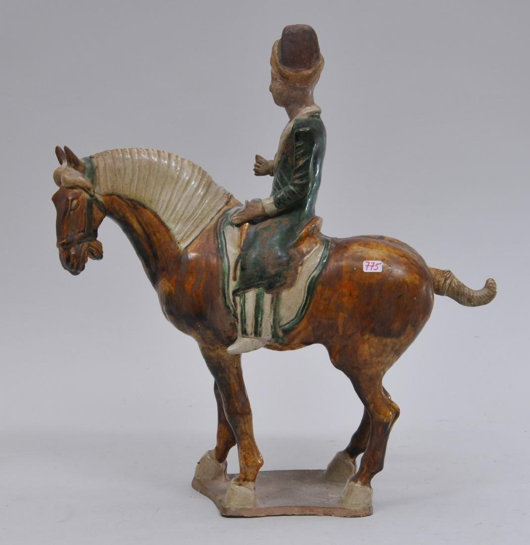Tomb figure. China. Tang style but probably 20th