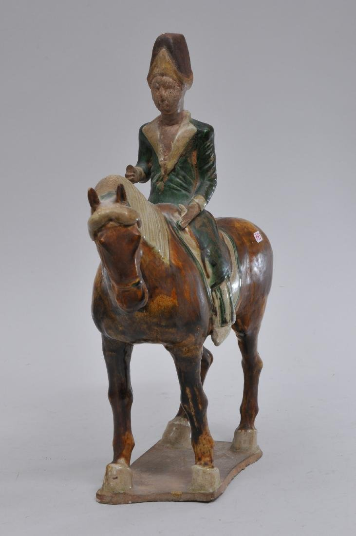 Tomb figure. China. Tang style but probably 20th - 2