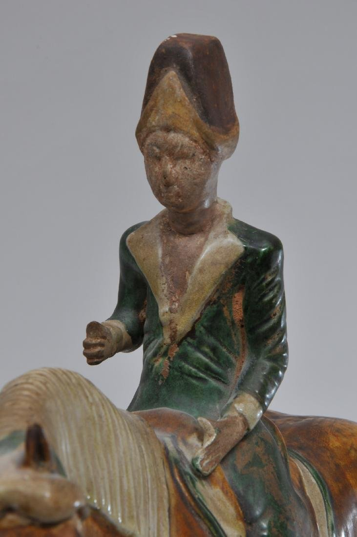 Tomb figure. China. Tang style but probably 20th - 3