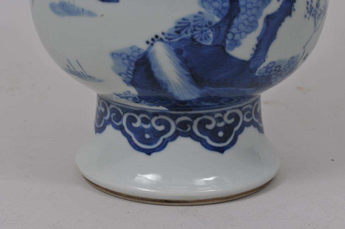 Porcelain vase. China. 20th century. Transistional - 4