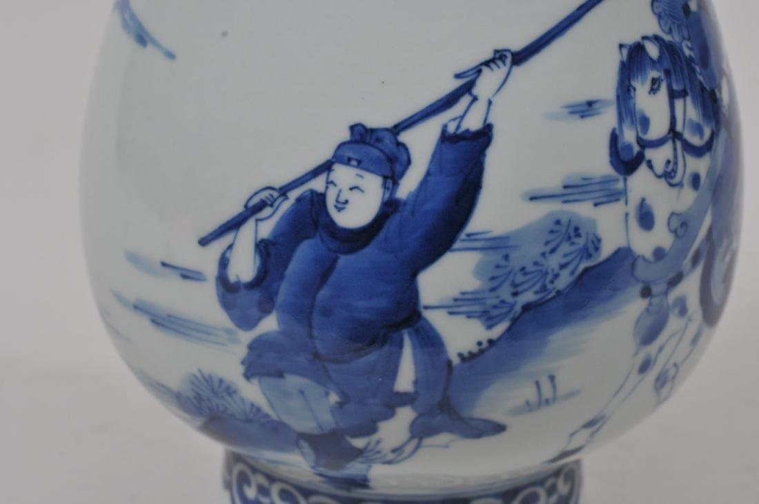 Porcelain vase. China. 20th century. Transistional - 6