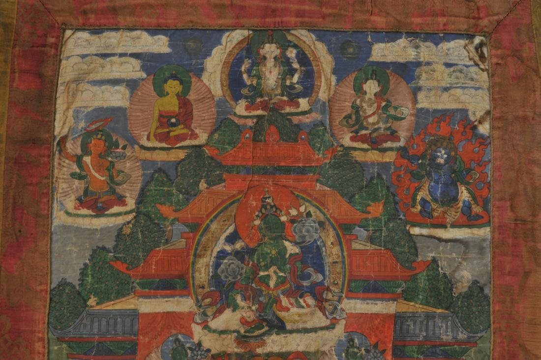 Buddhist Icon. Tibet. 19th century. Thangka of The - 3