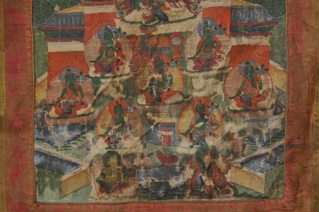 Buddhist Icon. Tibet. 19th century. Thangka of The - 4
