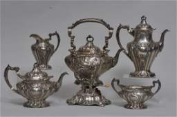 Gorham Chantilly pattern hand chased Sterling silver