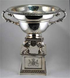 An impressive Paul Storr Sterling silver Classical