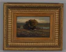 Louis H Richardson Marsh landscape Oil on canvas